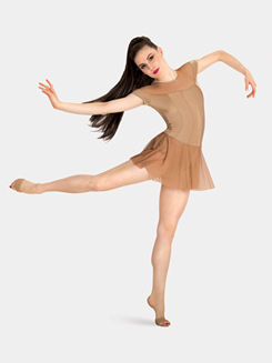 Child Cap Sleeve Tiler Peck Dress