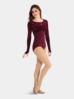 Adult Long Sleeve Velvet Pullover Top