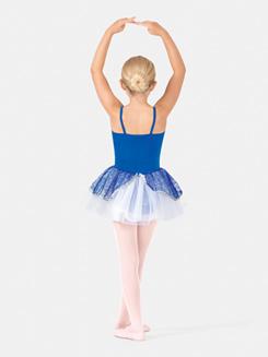 Girls Camisole Sequined Petticoat Dress