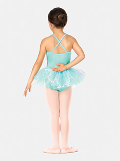 Girls Camisole Ombre Tutu Dress