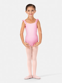 Girls Leotard & Skort Set