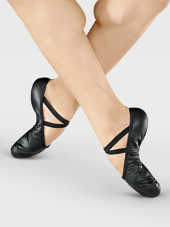 Adult Split-Sole Leather Ballet Slipper