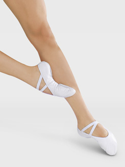 Child Split-Sole Leather Ballet Slipper