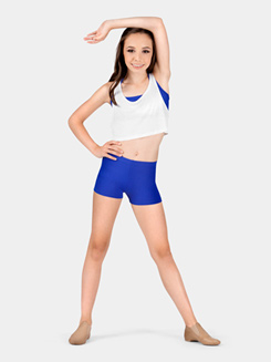 Girls 2.5 Inseam Dance Shorts