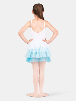 Girls 3-Tier Glitter Tutu Skirt