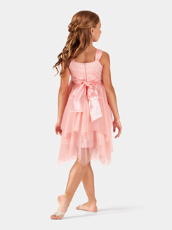 Girls Tank Rosette Dress