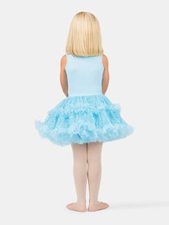 Girls Tank Blue Sequin Bodice Tutu Dress