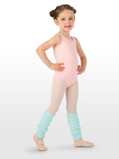 Child 12 Solid Color Legwarmers 