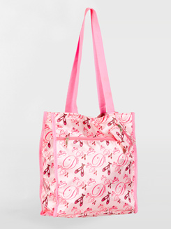 Satin Ballerina Tote Bag