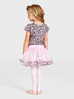 Child Animal Print Tutu 