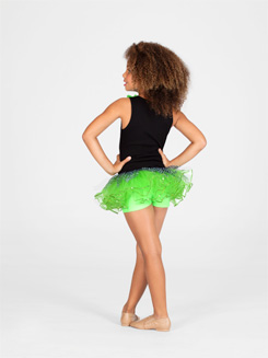 Child Zebra Sequin Tutu