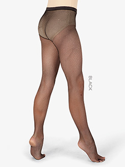 Girls Basic Footed Fishnet Dance Tights