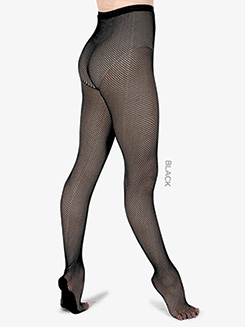 Adult Professional Footed Fishnet Dance Tights