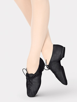 Girls Lace Up Jazz Shoe