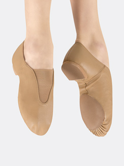Girls Gore Top Jazz Shoe