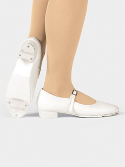 Girls Slip-On Buckle Strap Tap
