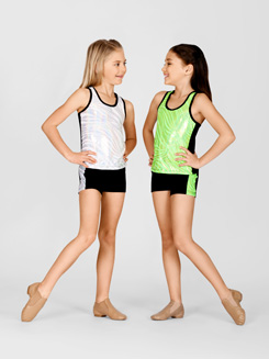 Child Metallic Tank Top 