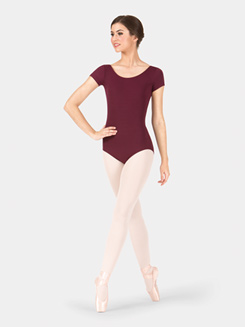 Adult Economy Short Sleeve Dance Leotard