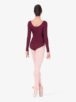 Adult Basic Long Sleeve Dance Leotard