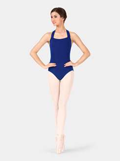 Adult Pull Over Halter Leotard
