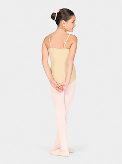 Adult Classic Square Neck Camisole Dance Leotard 