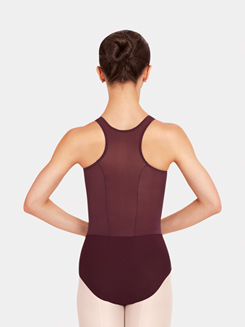 Adult Mosaic Racer Back Tank Leotard