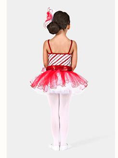 Peppermint Pirouettes Girls Tutu Dress