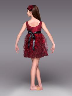 August Rose Girls Spiral Dress