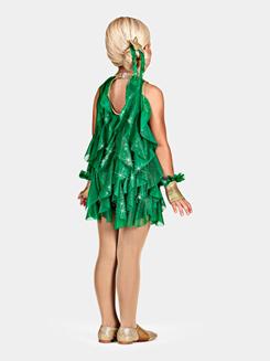 O Tannenbaum Girls Spiral Dress