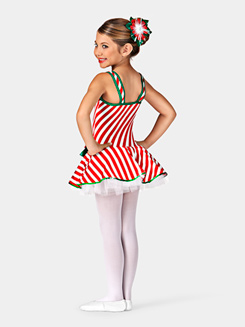 Candy Cane Girls Tutu Dress
