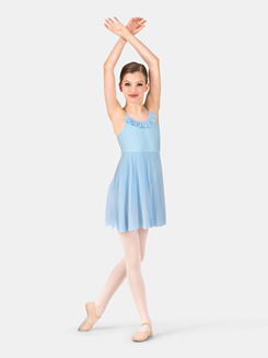 Child Ruffle Camisole Ballet Dress