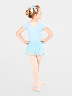 Child Short Sleeve Dance Dress