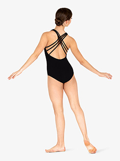 Adult Triple Crisscross Back Tank Leotard
