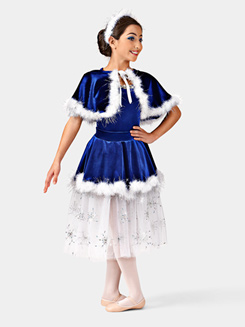 Skaters Waltz Girls Costume Set
