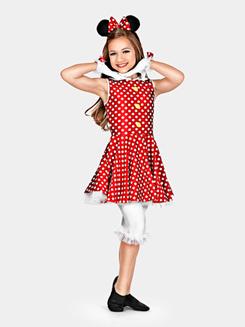 Hey Mickey Girls Costume Set