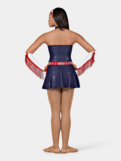 Cowgirl Adult Halter Dress