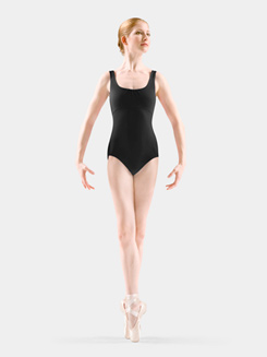 Adult Diamond Knot Back Tank Leotard