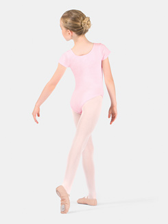 Girls Future Star Short Sleeve Leotard