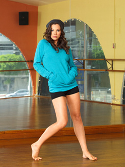 Adult Flash Dance Pocket Sweatshirt