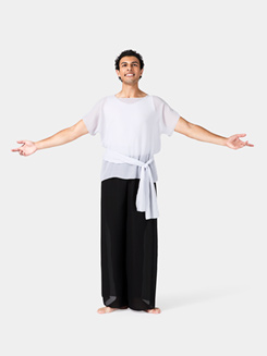 Adult Unisex Plus Size Worship Short Sleeve Tunic