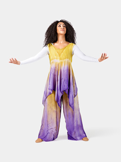 Plus Size Worship Handkerchief Dress