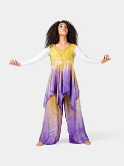 Ladies Plus Size Worship Handkerchief Dress