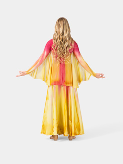 Ladies Plus Size Worship Winged Shrug