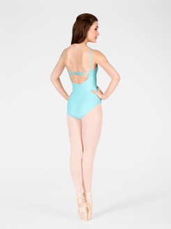 Calista Adult Double Strap Camisole Leotard