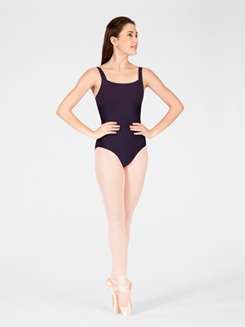 Titania Adult Ribbed Bodice Tank Leotard 