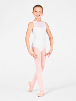Child Merveille Swiss Dot Camisole Leotard