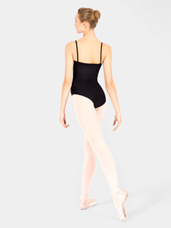 Adult Japura Ribbed Panel Camisole Leotard 