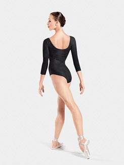 Lady 3/4 Sleeve Leotard