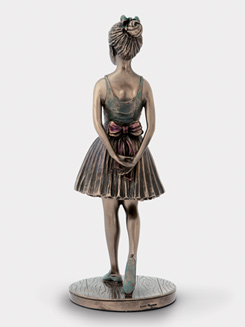 Ballerina Reviewing the Class Figurine