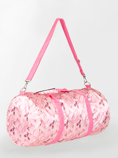 Satin Ballerina Duffle Bag